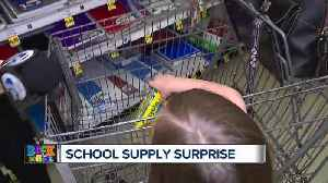 Businesses support children with WXYZ Back to School Supplies Surprise [Video]