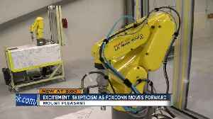 Local college adds degrees directly related to Foxconn careers [Video]