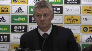 Solskjaer on Man United penalty confusion after draw at Wolves [Video]