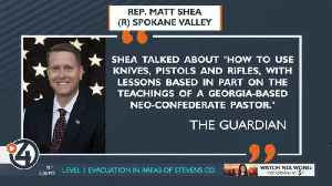 Spokane NAACP calls for Rep. Matt Shea's resignation [Video]