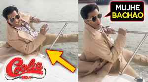 Varun Dhawan's DEADLY Stunt In The Middle Of The Ocean In China | Coolie No: 1 Shooting [Video]