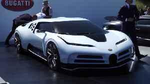 Bugatti Centodieci unveiled at Pebble Beach Car Show 2019 [Video]