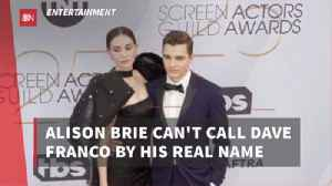 The Relationship Between Dave Franco And Alison Brie [Video]