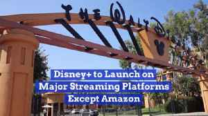 Disney Is Everywhere Except Amazon [Video]