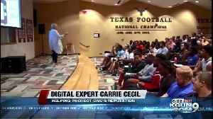 Wife of former NFL player and coach, Cecil maneuvers crisis online and off for sports celebrities [Video]