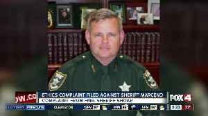 Sheriff Marceno's response to ethics complaint against him [Video]
