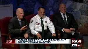 Former sheriff files ethics complaint against Carmine Marceno [Video]