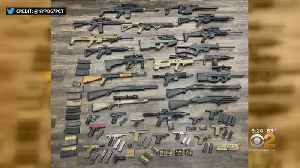 NYPD Seizes 34 Weapons In East Flatbush, Including Assault Rifles [Video]