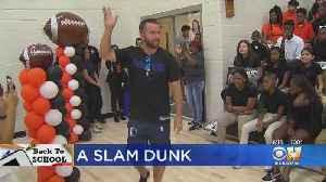 Dallas Mavericks Hold Back To School Pep Rally [Video]