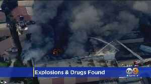 Flames, Explosions Erupt At Commercial Building In Paramount; Drug Operation Found [Video]