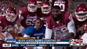 Jalen Hurts named Oklahoma's starting QB; Sooners slotted #4 in AP Preseason Poll [Video]