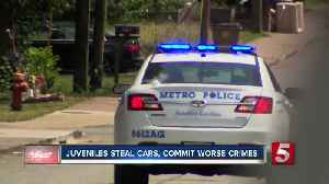 Stolen cars are just the beginning for young criminals. Police say other crimes are soon to follow. [Video]
