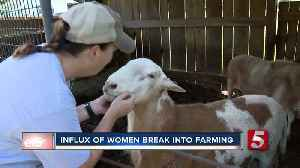 Numbers of female farmers increase in across the country [Video]