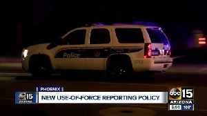 Phoenix police have new use of force reporting policy [Video]