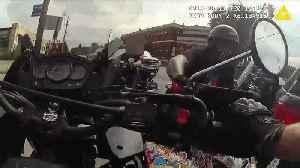 VIDEO: Cleveland traffic supervisor pursues ATV driver after crash [Video]