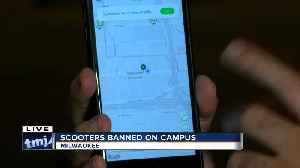Marquette University bans motorized scooters [Video]
