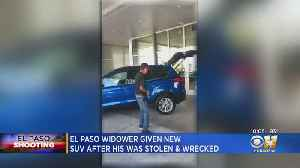 El Paso Widower Given New SUV After His Was Stolen, Wrecked [Video]