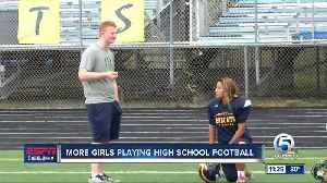 Girls playing HS football in Palm Beach County and the Treasure Coast [Video]
