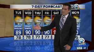 Latest Weather Forecast 11 p.m. Monday [Video]