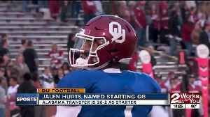 Jalen Hurts named Oklahoma's starting QB, Sooners check in at #4 in AP Preseason Poll [Video]