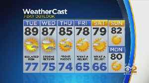 New York Weather: CBS2 8/19 Nightly Forecast at 11PM [Video]