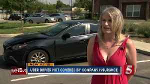 Uber driver involved crash warns drivers of insurance loophole [Video]