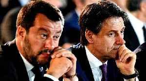 Italian PM Conte faces removal as Salvini flexes political muscle [Video]