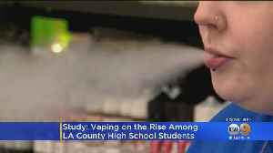 Vaping On The Rise Among LA High School Students [Video]