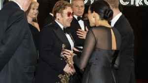 News video: Sir Elton John defends Prince Harry and Meghan's Nice trip