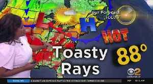 New York Weather: Hazy, Hot, Humid [Video]