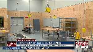 New metal shop, wood shop at Jenks Middle School [Video]