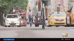 Central Park West Bike Lane Battle [Video]