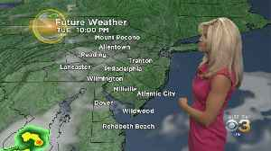6 AM Tuesday Morning Forecast: Staying Hot & Steamy [Video]
