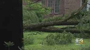 Powerful Storms Leave Path Of Destruction In South Jersey [Video]