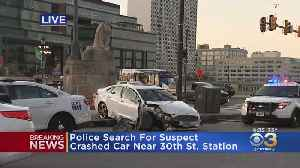 Search Continues For Driver Who Fled Scene Of Crash After Police Chase, Police Say [Video]