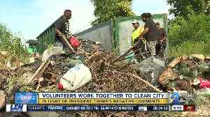 Baltimoreans work together to clean up negative reputation [Video]