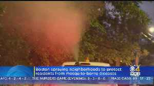 Mosquito Spraying In Boston Amid EEE Fears [Video]