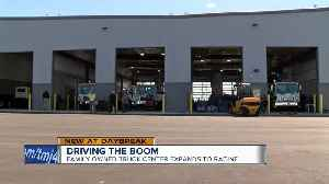 Driving the boom: family-owned truck center expands to Racine [Video]