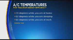 What's The Perfect Air Conditioner Temperature? [Video]