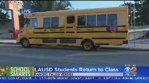 Thousands Of Students Head Back To School In LA [Video]