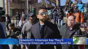 'Empire' Actor Jussie Smollett's Attorneys Say They Will Depose Rahm Emanuel, Others If City Doesn't Drop Civil Case [Video]