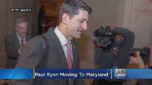 Paul Ryan Moving To Maryland, But Not Selling Wisconsin Home [Video]