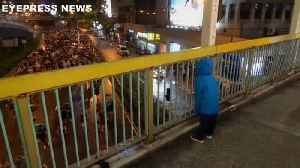 Watch: Chanting child strikes up rapport with Hong Kong protesters [Video]