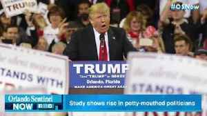 Study: Potty-mouthed politicians on the rise [Video]