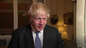 Boris Johnson vows to enter EU talks 'with a lot of oomph' despite backstop differences [Video]