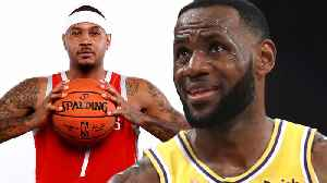 News video: LeBron James SLAMMED For Blackballing His BFF Carmelo Anthony & LETTING Lakers Sign Jared Dudley