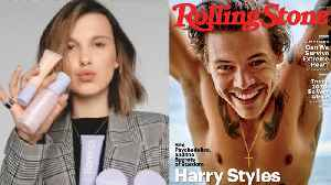 Millie Bobby Brown Launching A MAKEUP Line & Harry Styles Goes SHIRTLESS For Rolling Stones [Video]