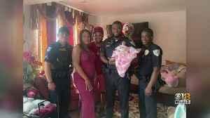 Laurel Police Officers Help Deliver Baby On Side Of Road [Video]