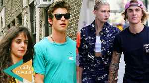 News video: Justin & Hailey Bieber EXCITED About Upcoming Wedding! Shawn Mendes & Camila RAMP UP PDA | DR