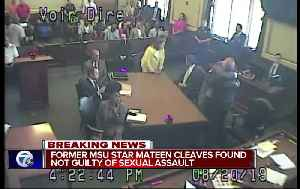 News video: Jury finds Mateen Cleaves not guilty in sexual assault trial